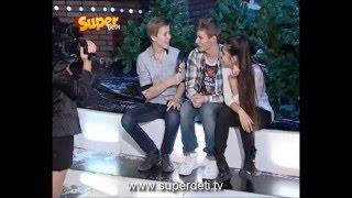 Саша Лавер и Катя Рябова( Интервью)