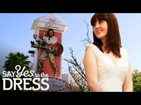 Bride Wants to be Walked Down the Aisle by Elvis Impersonator | Say Yes To The Vegas Dress