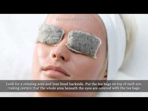 How to Use Tea Bags for Eye Bags