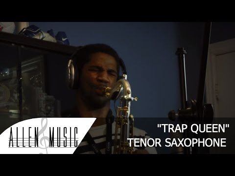 Trap Queen - Fetty Wap - Tenor Saxophone, Piano and Bass Cover - ft Devin Patten & Worrell McFarlane