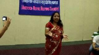 www.nepalmother.com presents Nepali Teej geet dance 2009 Manassas USA part - 2