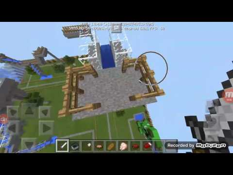Minecraft Pocket Edition - Water Park Map!