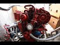 How to maintain a yacht/sail boat engine lubrication system, changing the oil and filter.