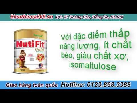 Sữa NutiFood NutiFit Gold- dành cho trẻ thừa cân, béo phì