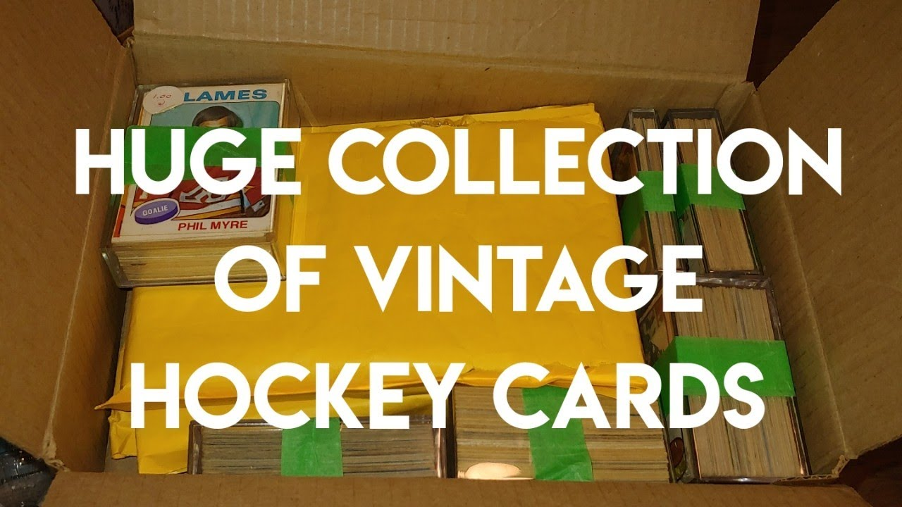 Bought a huge collection of Vintage hockey cards