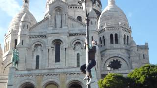 Street artist Iya Traore Paris Football freestyle Part 2
