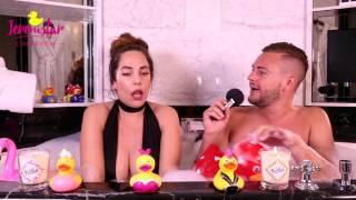 Kim (Les Anges 9) dans le bain de Jeremstar - INTERVIEW