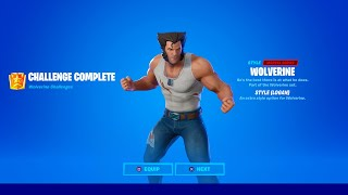 How to Unlock Wolverine Logan Style in Fortnite (All Wolverine Challenges)