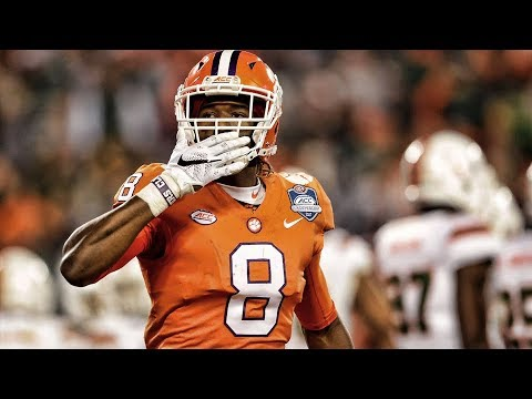 Deon Cain Clemson 2017 Season Highlights ᴴᴰ