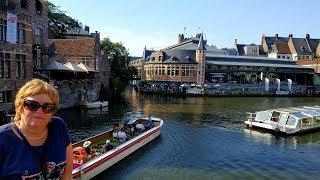 Бельгия,  Фландрия, Гент — сказочный город.