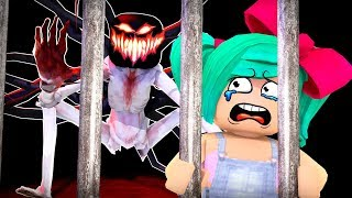I have a MONSTER in the prison! (Prison Break Roblox)