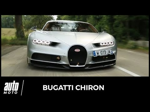 2017 Bugatti Chiron [ESSAI] : nos impressions au volant de l'hypercar de 1500 ch