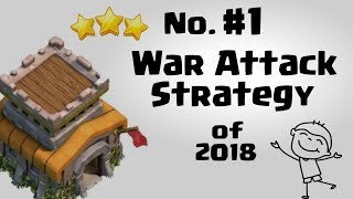 Town hall 8 (TH8) Most Heroic War Attacks | TH8 Best War Attack Strategy 2018 | Clash of Clans INDIA