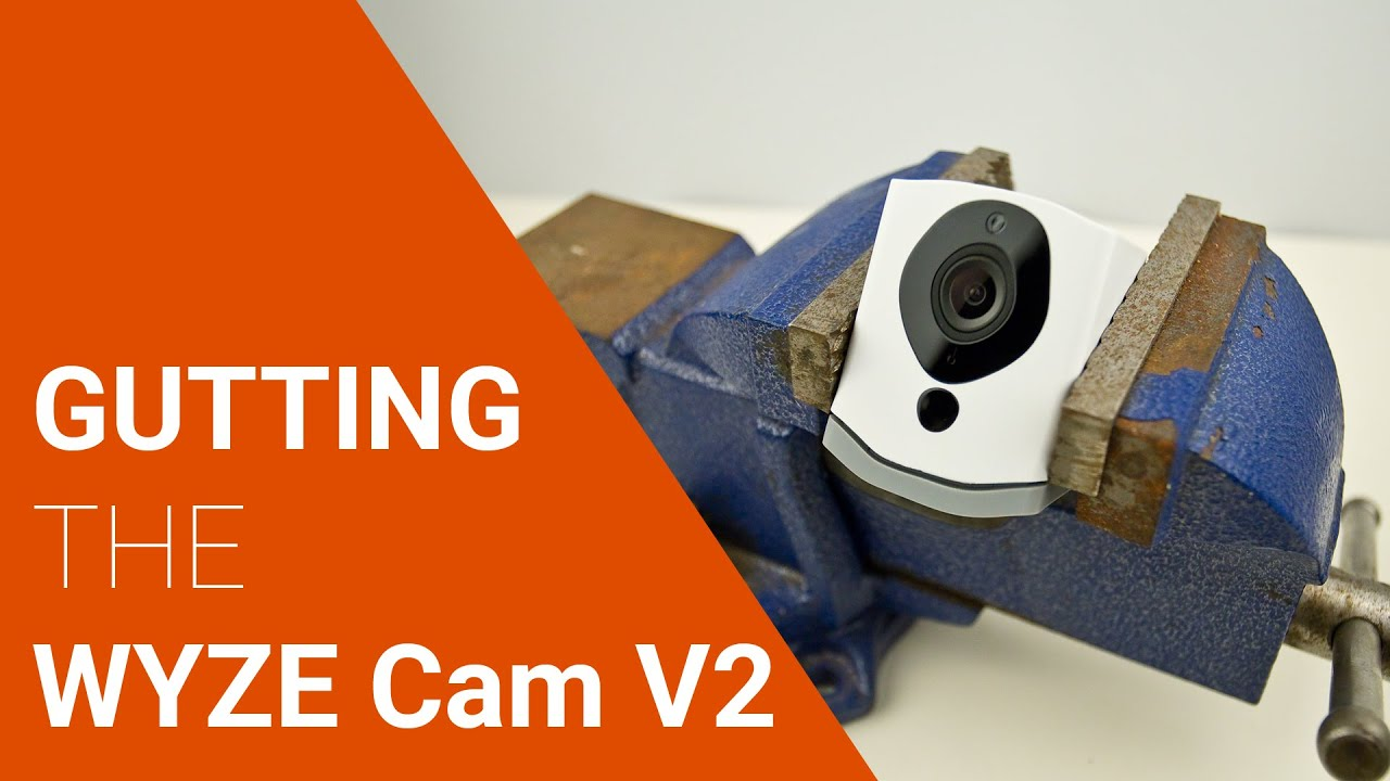 WYZE Cam V2 - Taking apart to see what inside  Mobile Modding