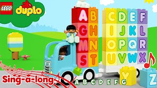 Learn The Alphabet Song | LEGO Alphabet Blocks | Learning For Toddlers | Nursery Rhymes & Kids Songs