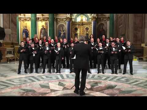 """Let's Burn America"" – Russian choir singing in church. More trash from Russia."