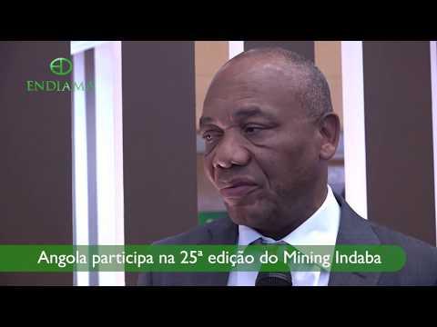 Mining Indaba: Entrevista Ao PCA Da Endiama