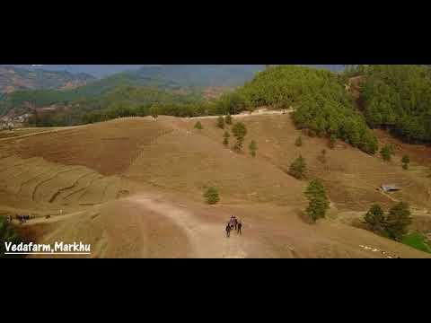 Chitlang   kulekhani   Markhu   Drone Shots   Aerial SD