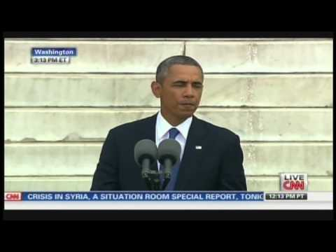 President Obama Let Freedom Ring March On Washington 50th Anniversary (August 28, 2013) [1/3]