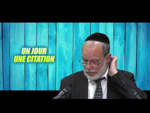 UN JOUR UNE CITATION 8 -  PIRKE AVOT (intro) - Tout Israel a une part au monde futur !