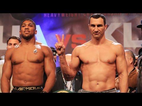 Dwyer 17-4-28 Post Weigh In - Anthony Joshua v. Wladimir Klitschko