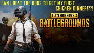 Can I beat the odds to get my First Chicken Dinner!! (PUBG Mobile)