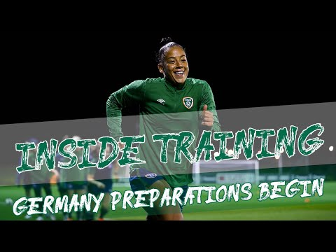 INSIDE TRAINING | Germany preparations begin