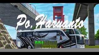 TOP LIVERY MOD BUSSID NEW HR 065 PARADISE REBORN SPESIAL MOD J…