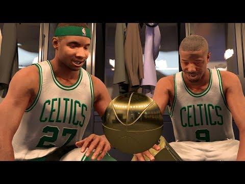 NBA 2K17 My Career - Warriors Swept! Celtics Banner 18! NFG4! PS4 Pro 4K