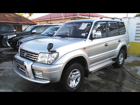 Toyota Prado TX Limited 2001 Silver Available at HARAB MOTORS TZ