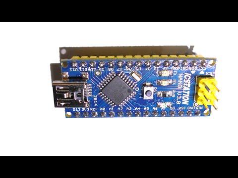 Обзор Arduino Nano V3.0. Схема. Драйвер. Программирование, прошивка