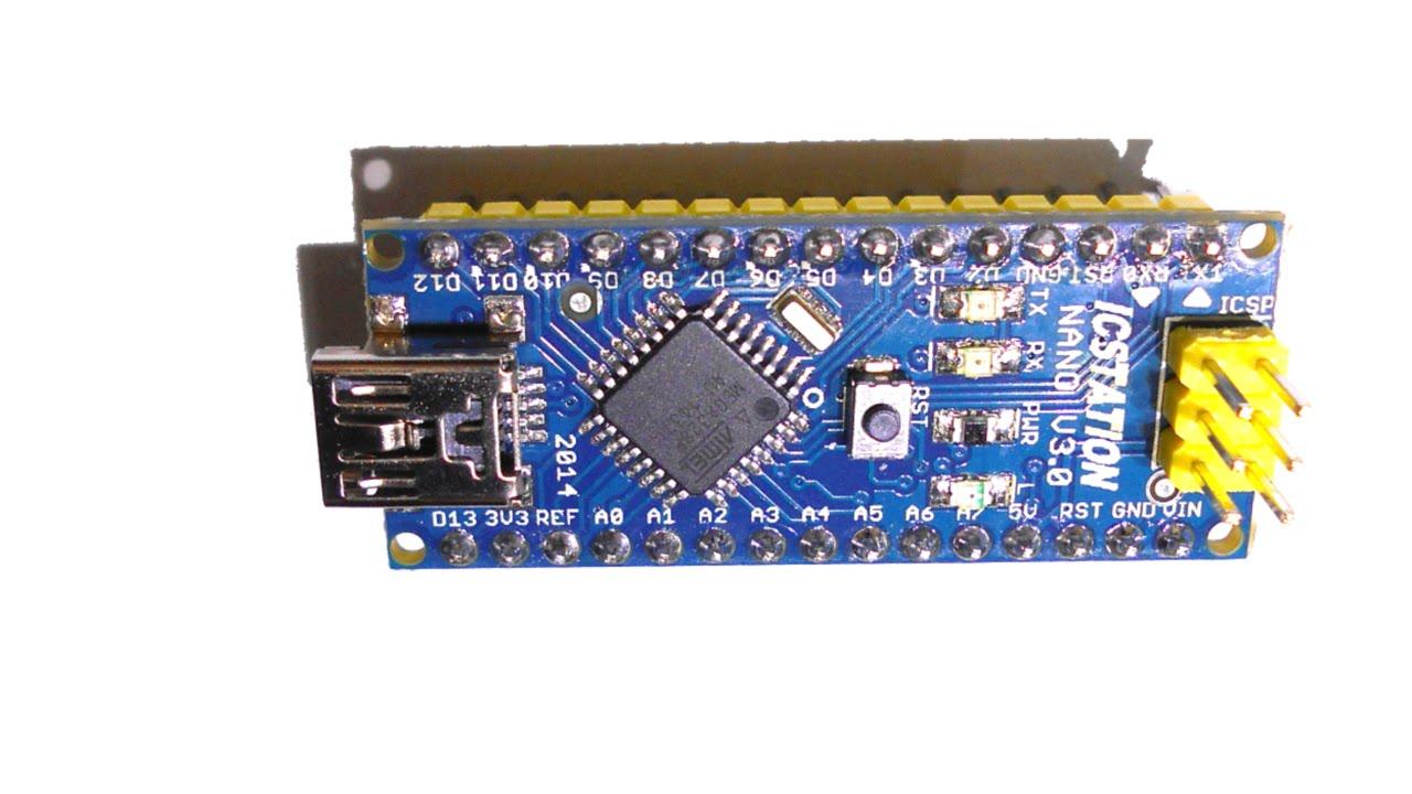 Обзор arduino nano v Схема Драйвер Программирование