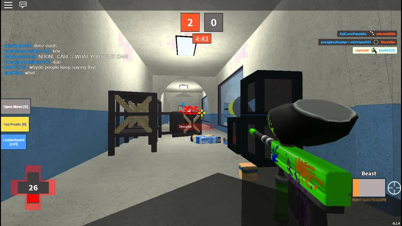 Roblox Mad paintball Red sniper montage - YouTube |Mad Paintball Sniper