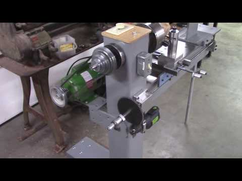 Wood lathe made similar to a metal lathe The BUILD video is coming SOON!