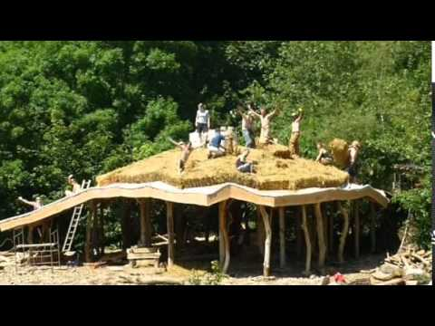 Delightful Pull Down Your Hobbit Home, Couple Told: Eco House Made From Straw And Wood  Is Harmful