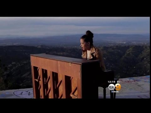 Mystery Solved: Video Shows How Piano Ended Up Atop Santa Monica Mountains