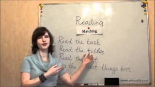 Чтение (ВНО, английский): Часть 1, видео урок