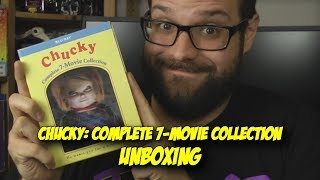 Chucky: Complete 7-Movie Collection - Blood Splattered Unboxing (Blu-Ray Review)