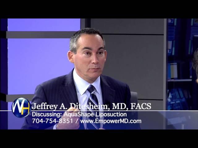 What is AquaShape Liposuction with Charlotte, NC Plastic Surgeon Jeffrey Ditesheim, MD