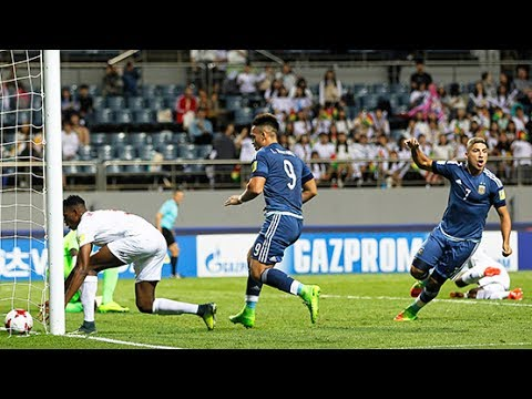 Mundial Sub 20 2017 - Guinea 0 - 5 - Argentina - Gol de Matías Zaracho