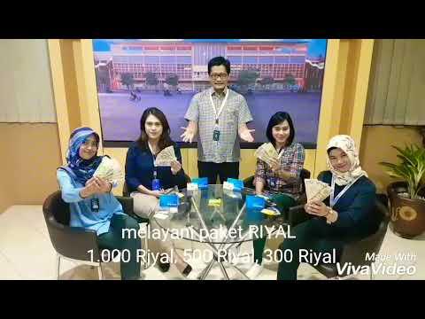 BRI Money Changer - BRI Surabaya Kapas Krampung - Melayani Tukar Uang RIYAL
