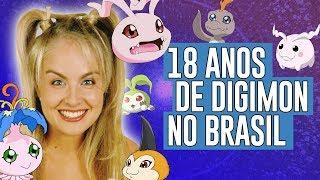 18 anos de Digimon no Brasil