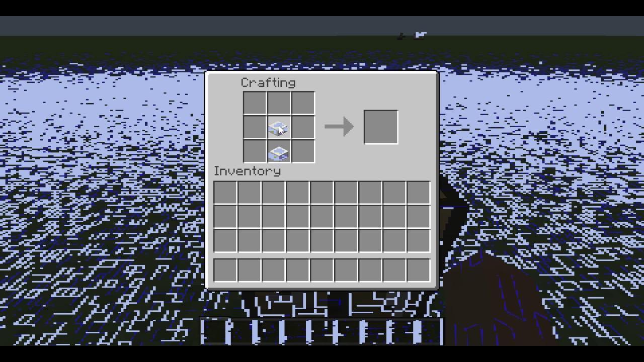 Minecraft: How to craft a Chiseled Quartz Block - YouTube