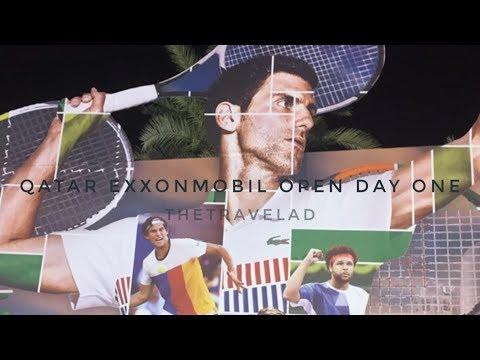 2018 Qatar ExxonMobil Open Day One