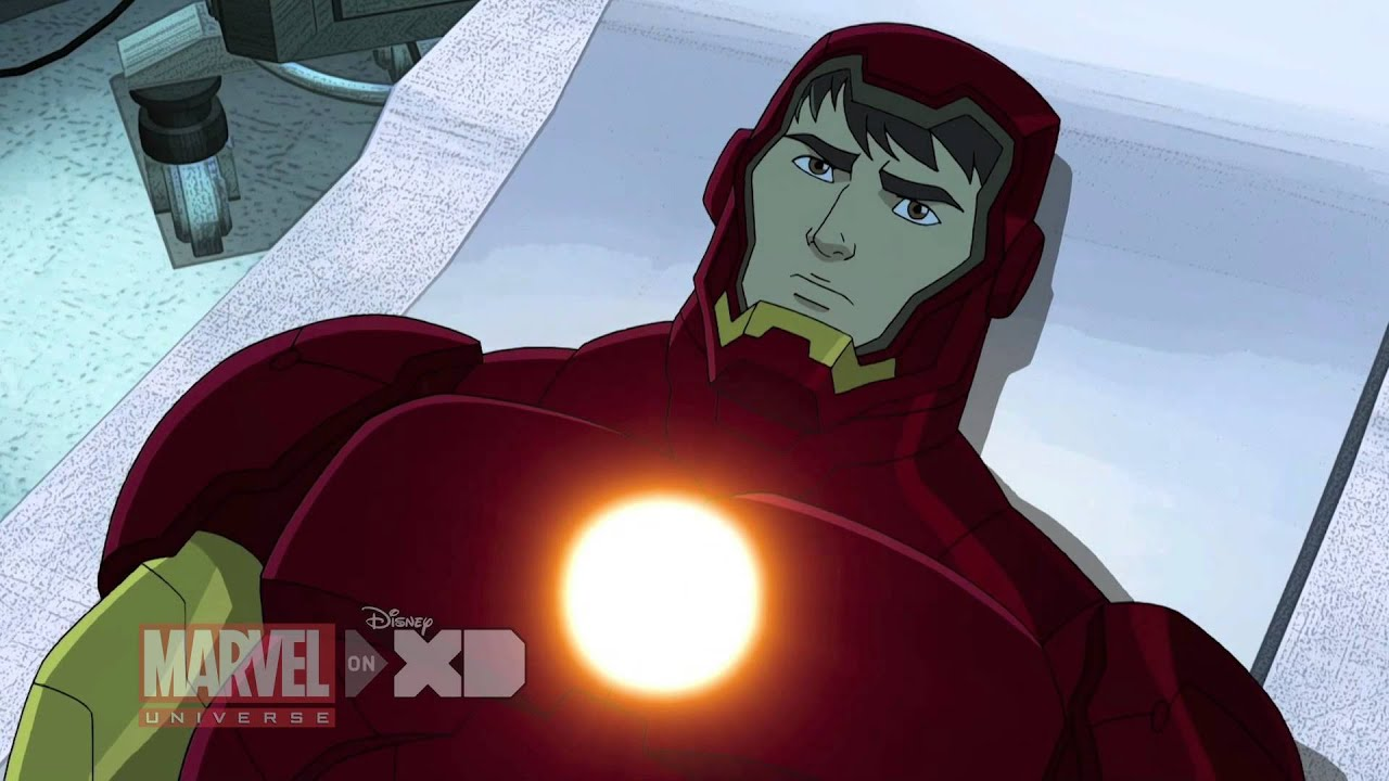 Iron Man Travels Through Time - Marvel's Avengers Assemble Season 2, Ep  7  - Clip 1