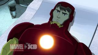 Скачать Iron Man Travels Through Time Marvel S Avengers Assemble Season 2 Ep 7 Clip 1