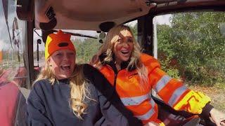 Linse og Didde som genbrugsarbejdere