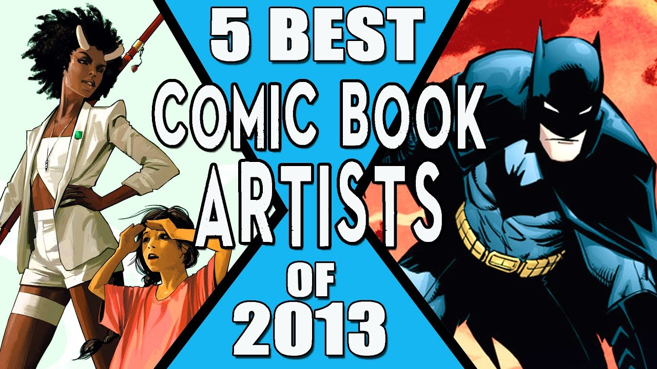 Best Books On Drawing & Making Comics - Concept Art Empire