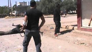 معركة تحرير اللواء 52 اشتباكات عنيفة بلدة المليحة الغربية 5-6-2013