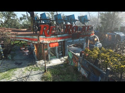 Fallout 4 - Red Rocket Settlement Tour thumbnail
